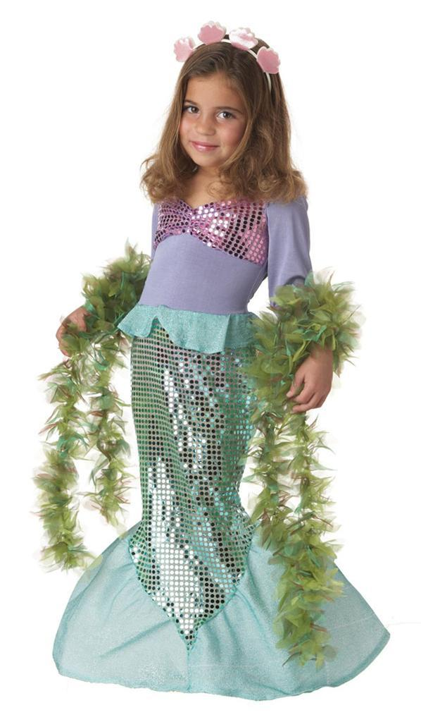 Toddler Girl Little Mermaid Princess Ariel Children