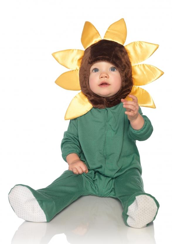 Cute Baby Sunflower Halloween Costume Kids Sun