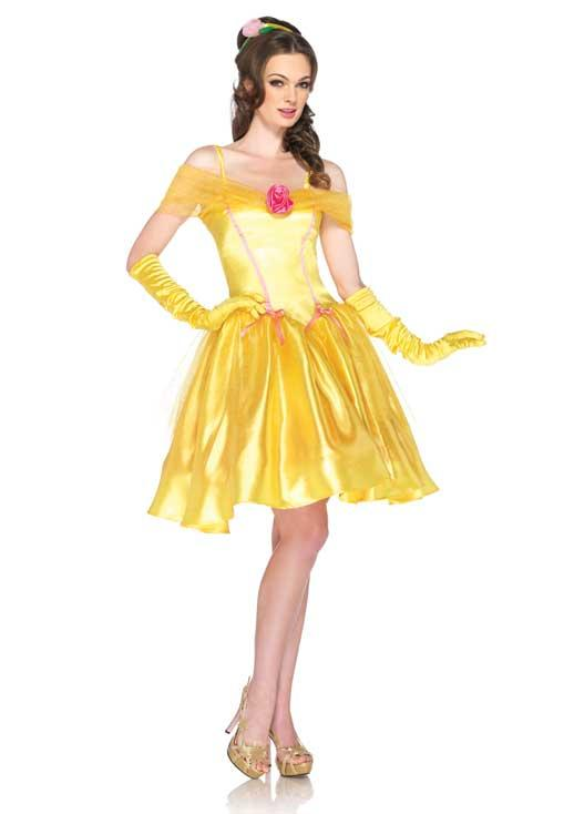 belle from beauty and the beast adult costume - Beauty Halloween Costume