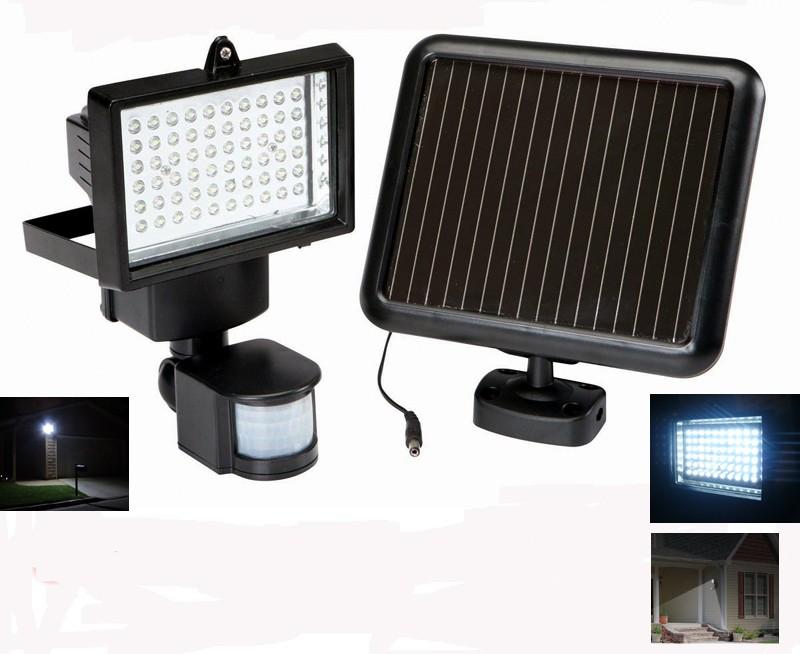 850 lumen solar ultra bright motion sensor security light flood light. Black Bedroom Furniture Sets. Home Design Ideas