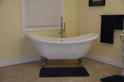 Acrylic Double Slipper Clawfoot Bathtub BathTub PACKAGE EBay