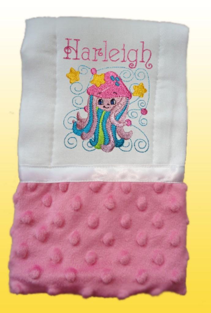 Handmade Baby Girl Pink Burp Cloth Burp Cloths Bib Burp Cloth