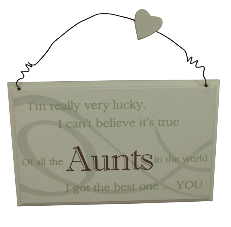 Best aunt plaque great gift for a special birthday