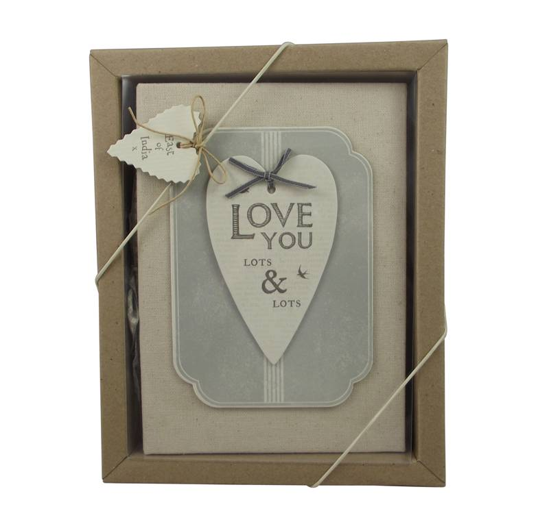 East Of India Love You Lots Amp Lots Photo Album 4th Wedding Anniversary Gift Idea