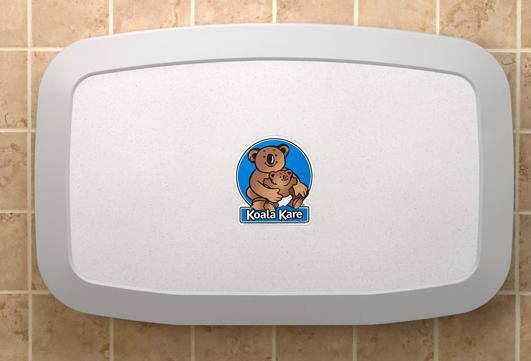 Koala Kare Bobrick Granite White Baby Change Table Kb200