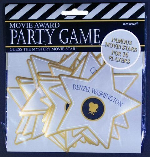 Movie star party game