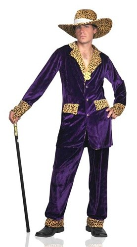 home top pimp mac daddy costume purple