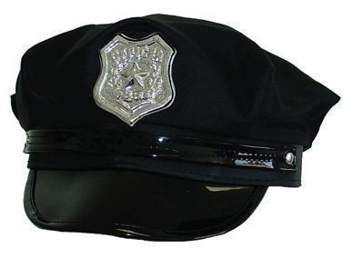 POLICE-OFFICER-COP-HAT-CAP-UNISEX-NEW-YORK-LOOK-COSTUME-NEW