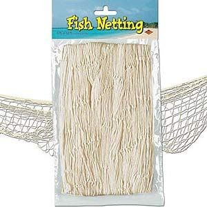 Fish Netting Under The Sea Hawaiian Luau Pirate 3 7m Party Decorations Ebay