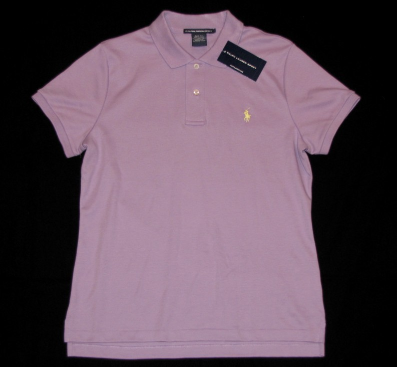 neu ralph lauren damen polo shirt xl 42 44 slim fit hemd k a lila pony. Black Bedroom Furniture Sets. Home Design Ideas