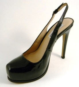 Steve Madden Staciee Black or Beige Leather Heels Shoes