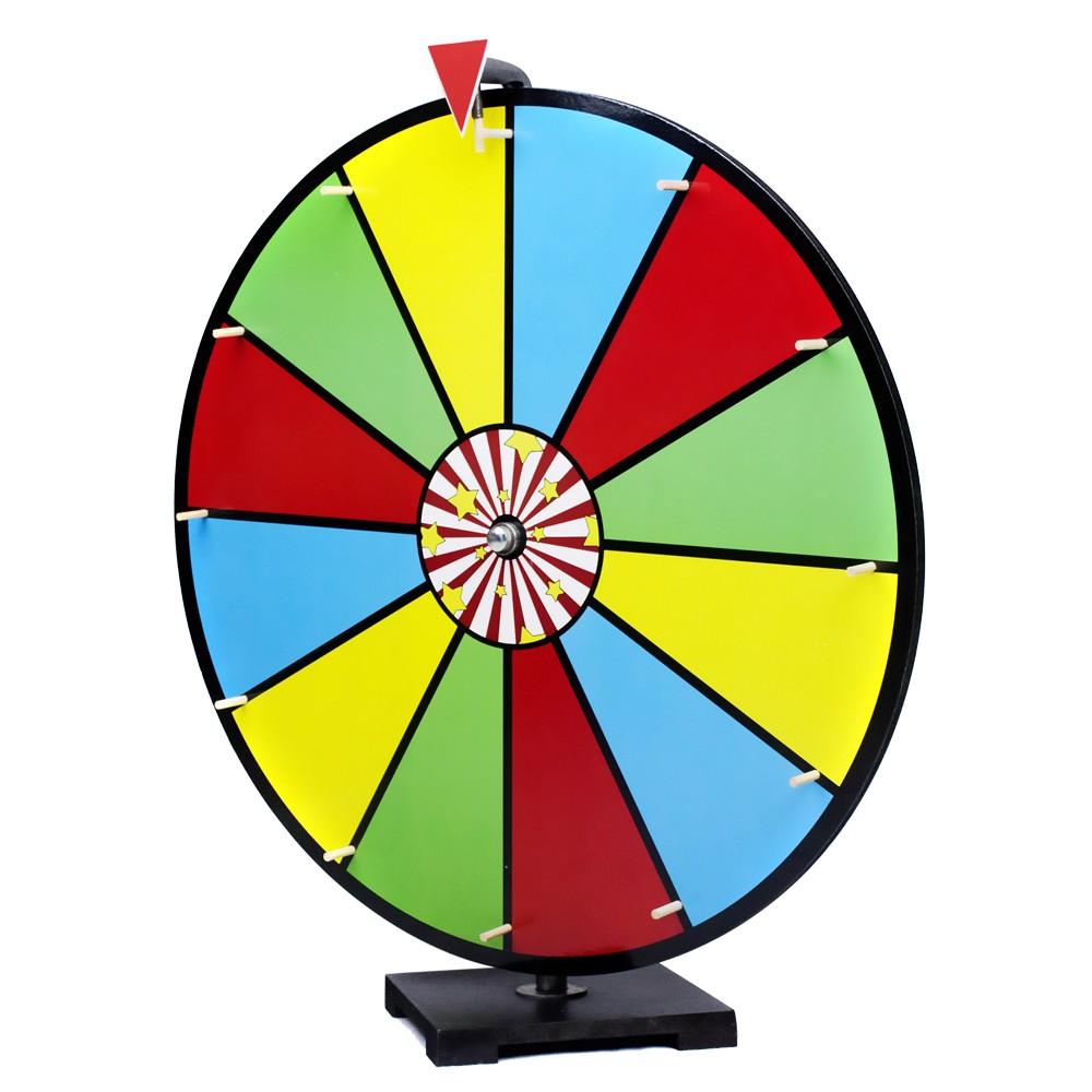 24 color erase spinning prize wheel new ebay