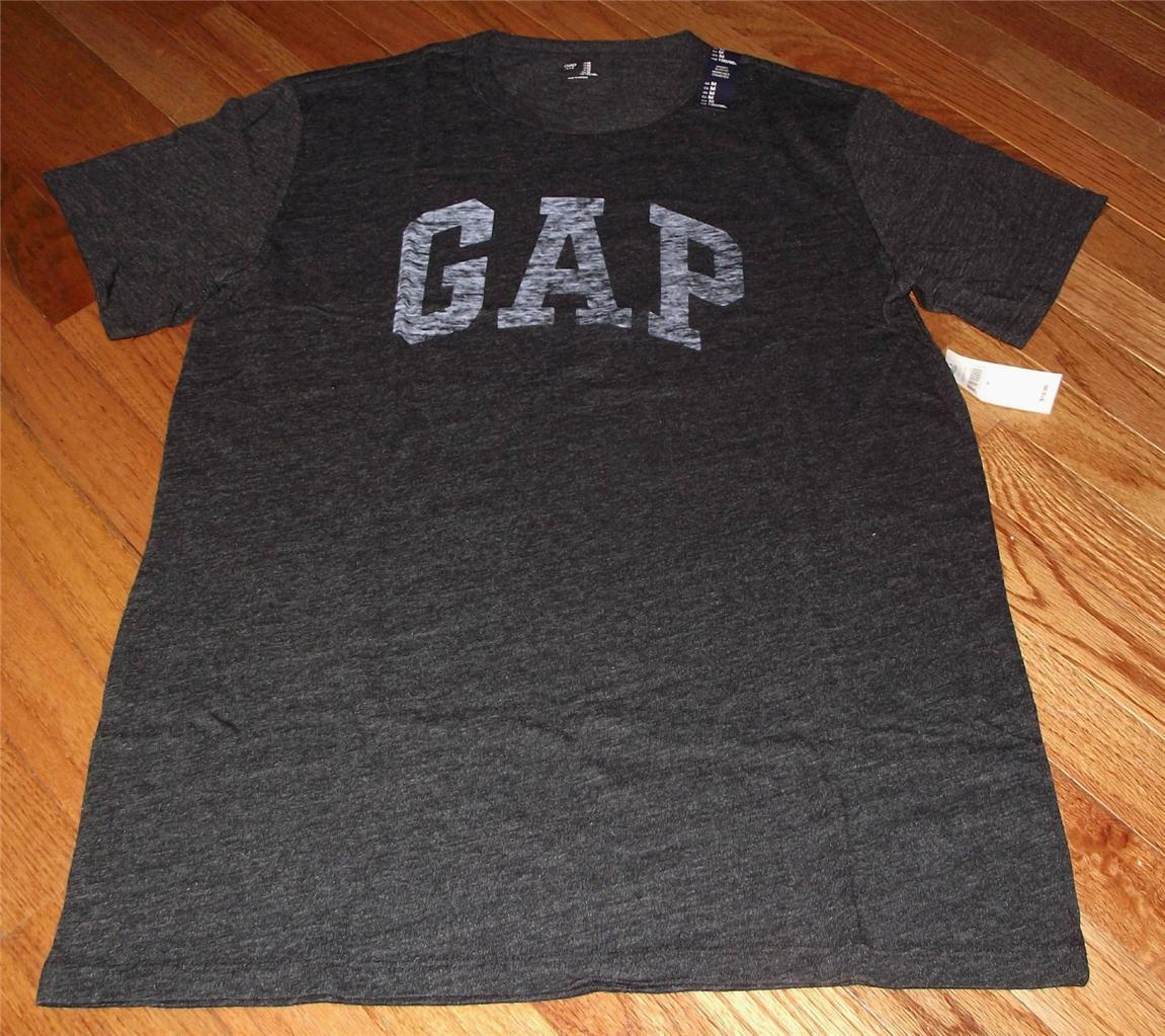 new nwt mens gap distressed arch logo graphic tee t shirt