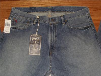 Polo Ralph Lauren Mens Classic Fit 867 Jeans