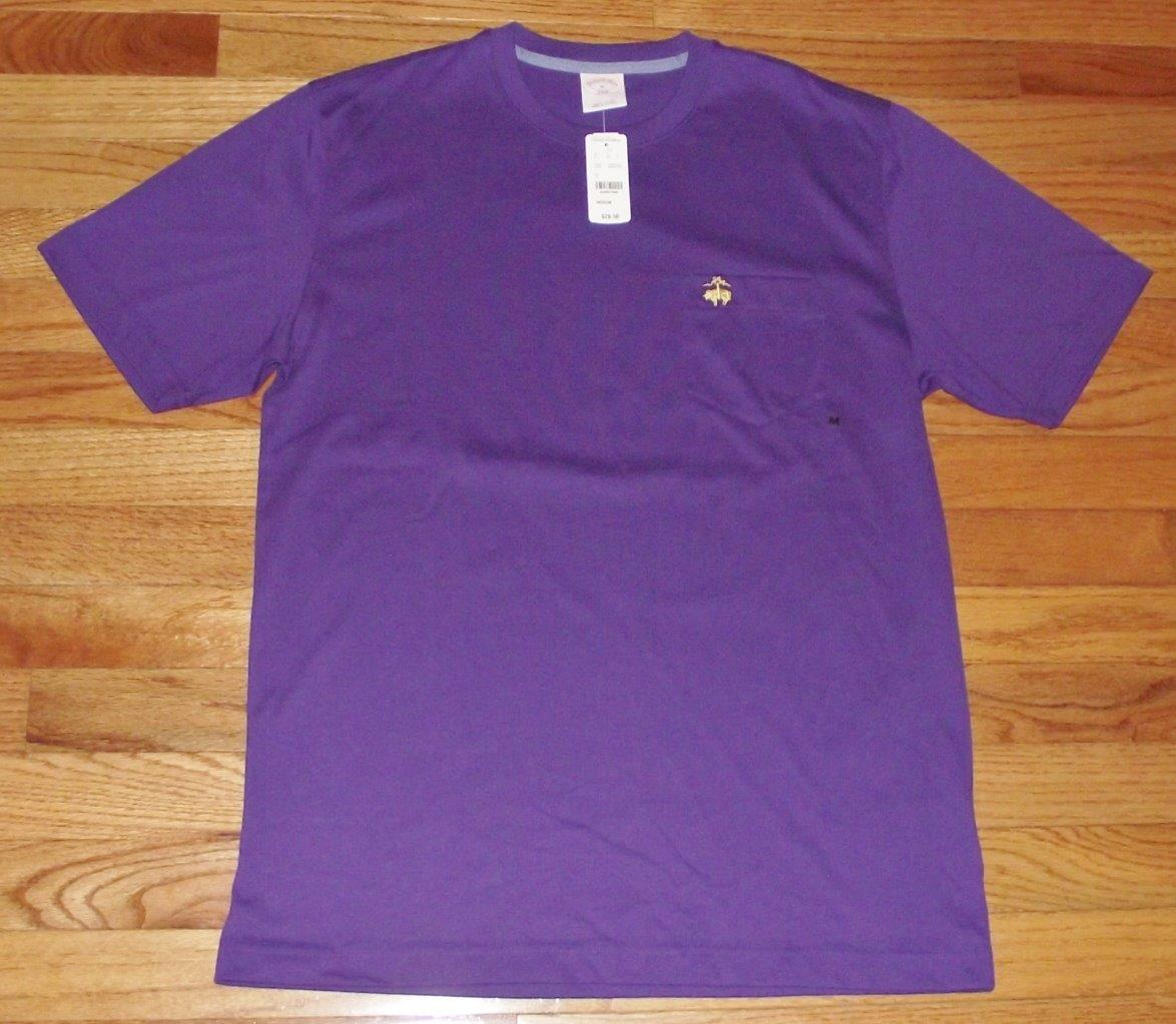 nwt brooks brothers mens pocket t shirt golden fleece logo