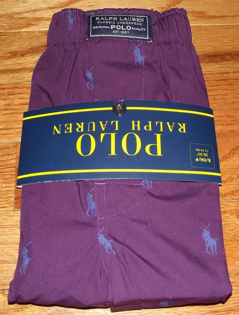 Polo Ralph Lauren Big Pony Shorts Purple