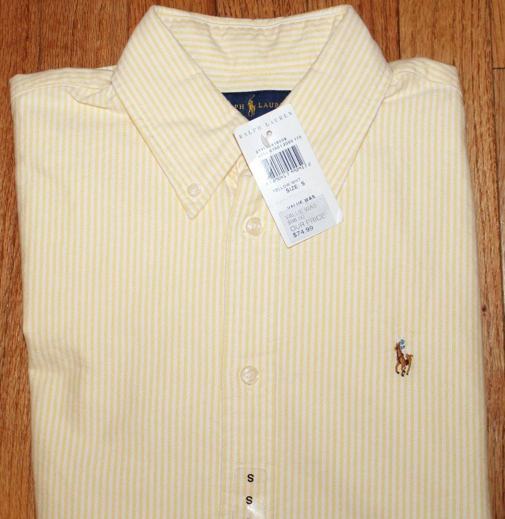 New polo ralph lauren womens l s button down oxford dress for Womens button up polo shirts