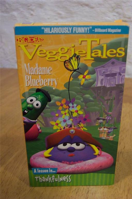 Veggie Tales MADAME BLUEBERRY A - 49.2KB