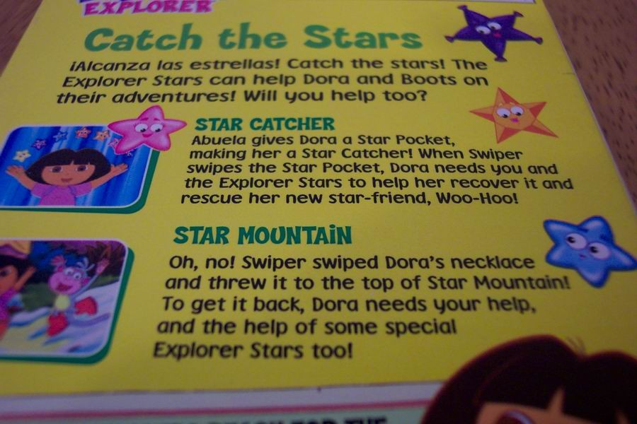 dora the explorer super map with Dora The Explorer Catch The Stars Vhs Video 2151310 on 6318 as well Dora The Explorerdora Saves The Mermaids Go Diego Go Safari Adventure additionally Watch in addition File wiki Background further Dora The Explorer CATCH THE STARS VHS VIDEO 2151310.
