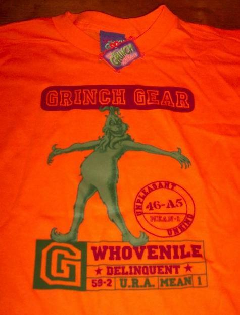 Dr. Seuss THE GRINCH CHRISTMAS T-Shirt YOUTH MEDIUM - Tops, Shirts & T ...