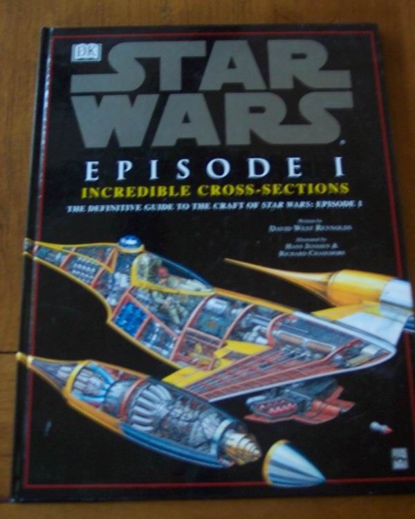 Star Wars Episode I Incredible Cross Sections Book Ad
