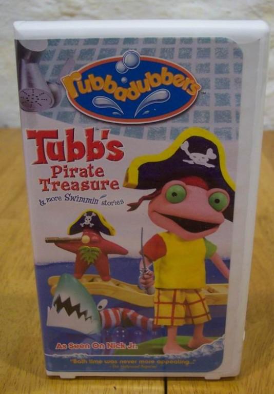 Description. Rubbadubbers  Tubb s Pirate Treasure VHS VIDEO 2003   Ad   2154793