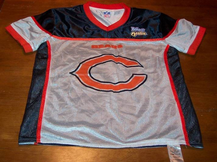 Adult bear chicago jersey small