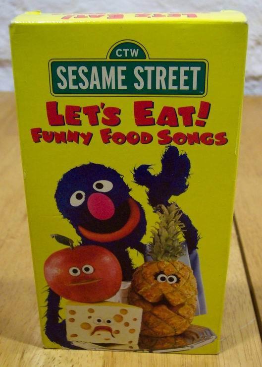Sesame street lets eat funny food songs