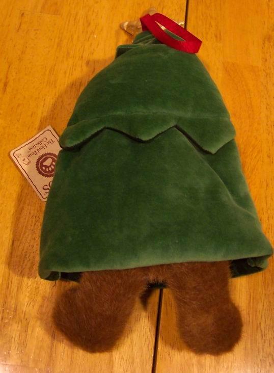 Boyds Best Dressed Fraizer Teddy Bear In Christmas Ad