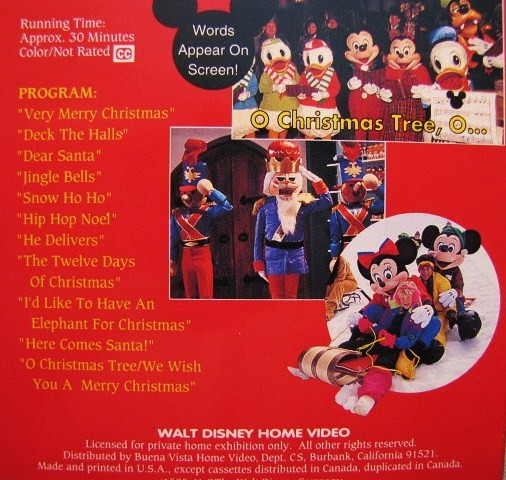 Sing Along Songs be Our Guest Vhs Disney Sing Along Songs Twelve
