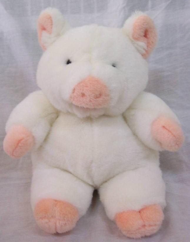 mary meyer 1992 big white pig 13 plush stuffed animal toy ebay. Black Bedroom Furniture Sets. Home Design Ideas