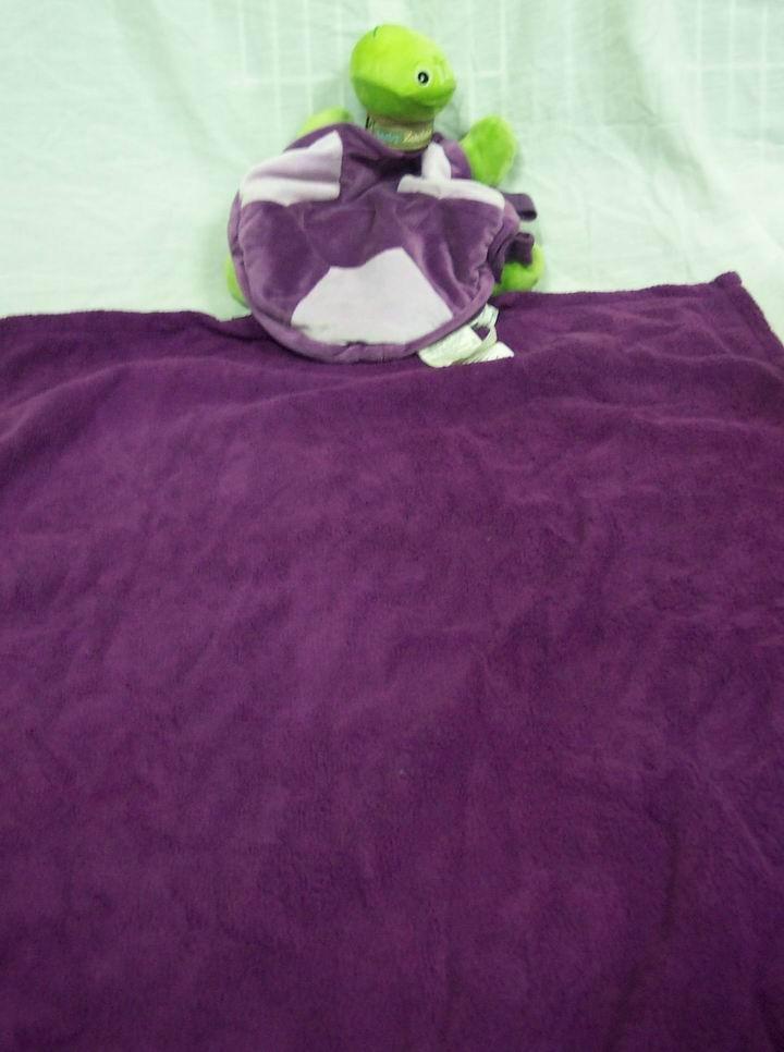 Zoobie PURPLE & GREEN TURTLE W/ PURPLE BLANKET - Ad#: 3181628 - Addoway