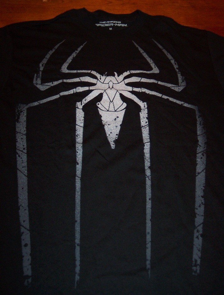 Vintage style the amazing spider man symbol t shirt medium for A href text decoration
