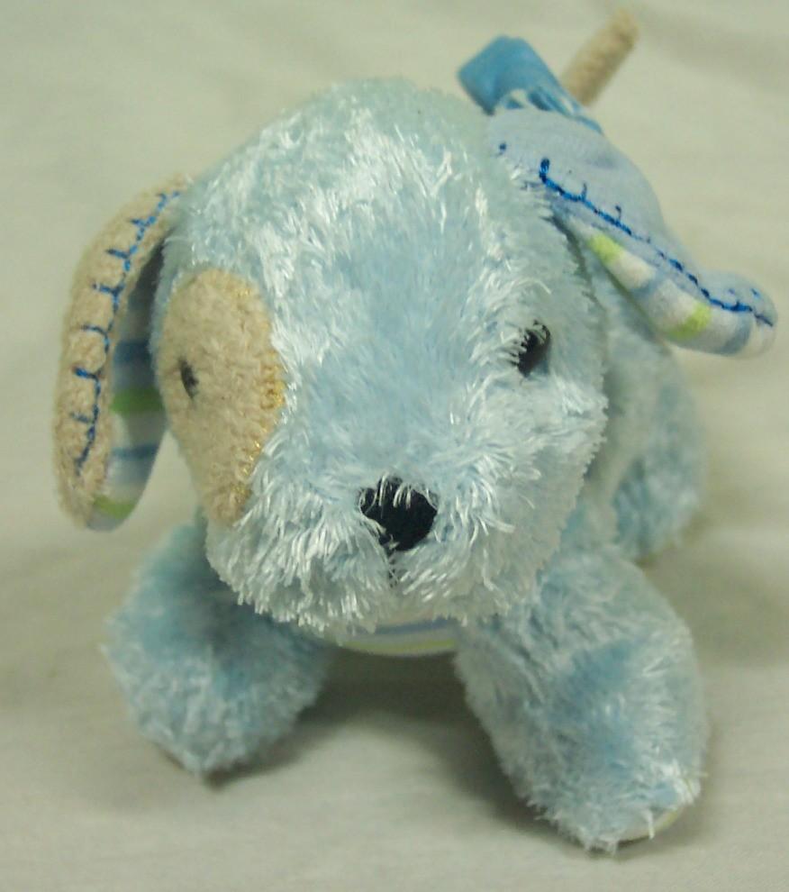 carter 39 s vibrating baby blue puppy dog clip 5 plush stuffed animal toy ebay. Black Bedroom Furniture Sets. Home Design Ideas