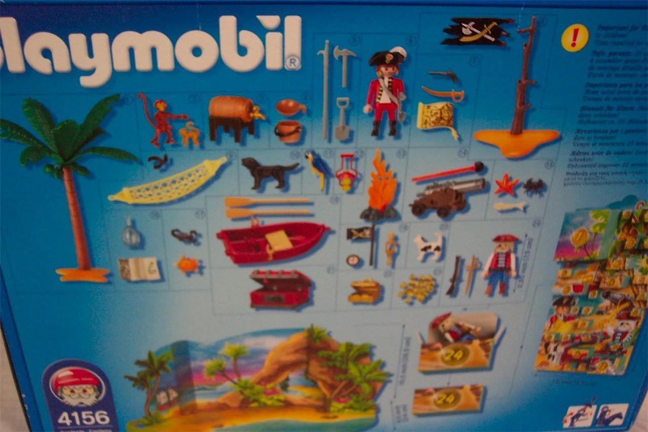 Playmobil PIRATE ADVENT CALENDAR 4156 NEW IN BOX - Ad#: 3433304 ...