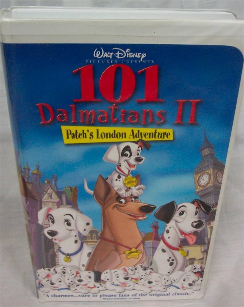 101 Dalmatians 2: Patchs London Adventure VHS, 2003