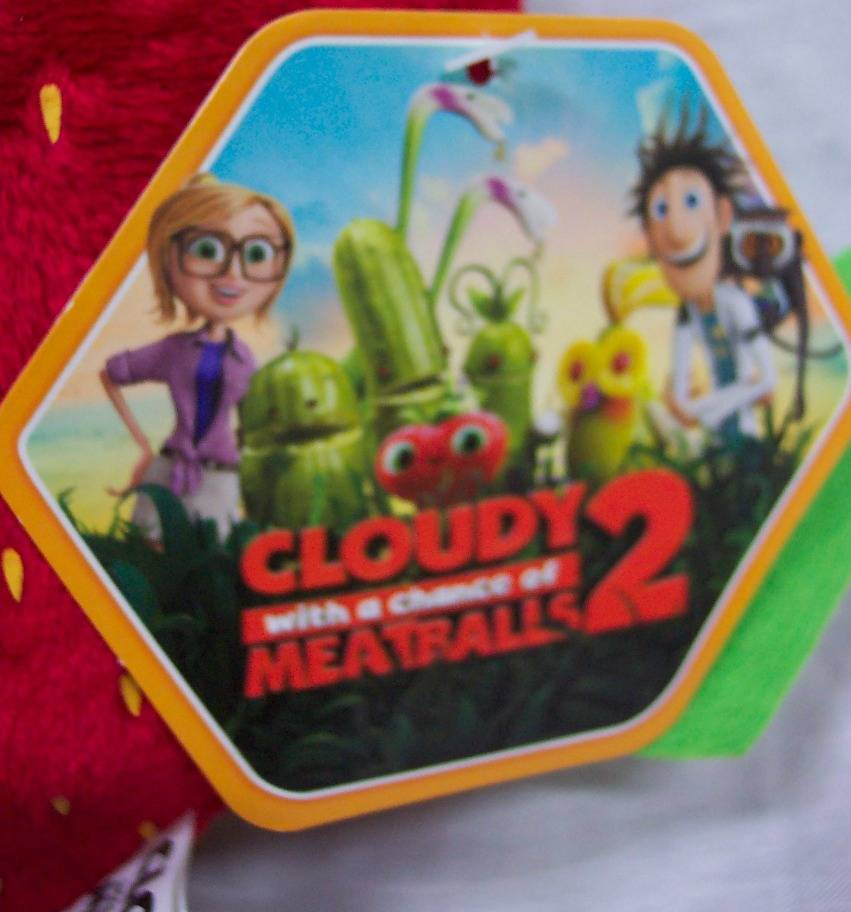 Cloudy with a chance of meatballs toys