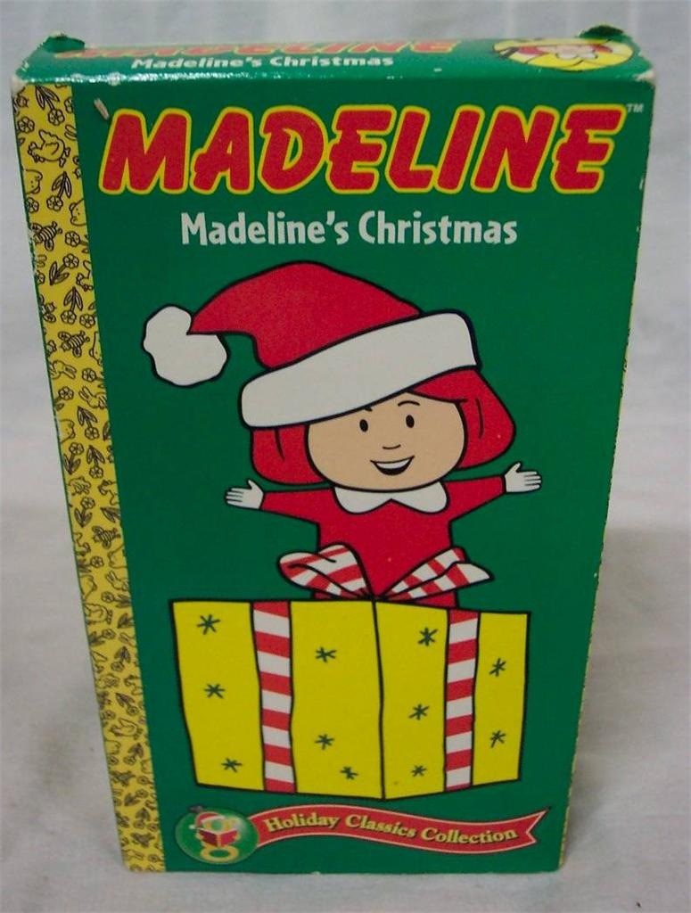 MADELINE'S CHRISTMAS VHS VIDEO - Ad#: 2202906 - Addoway