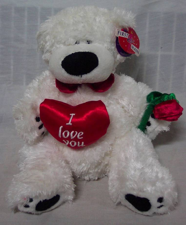 I Love You Teddy Bear  eBay