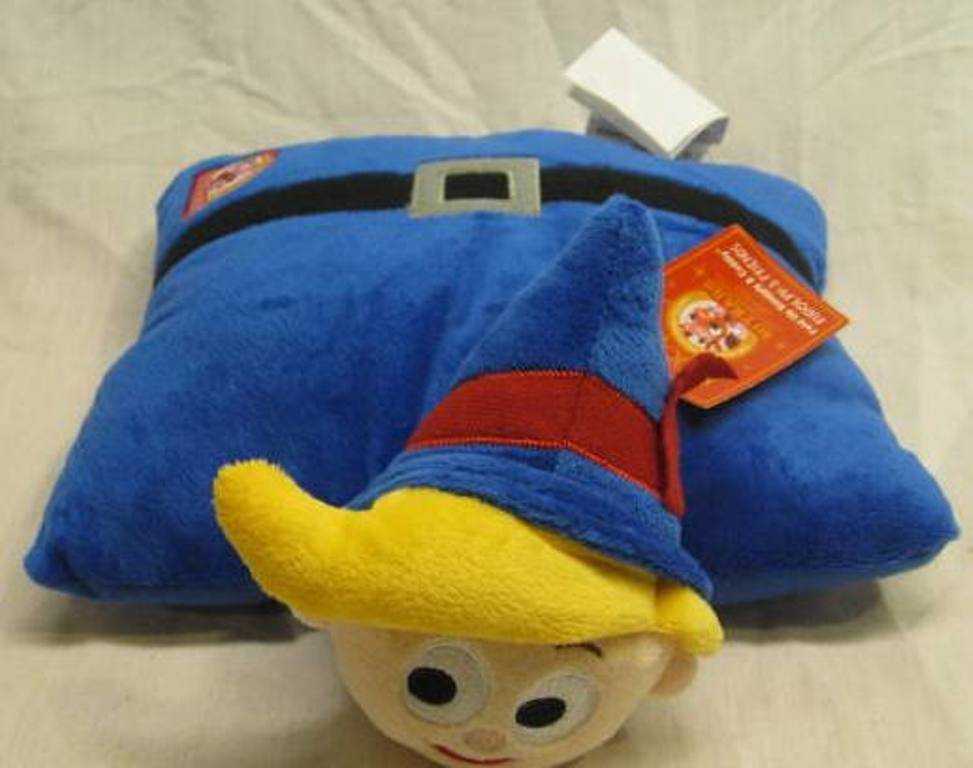 Animal Character Pillow : Rudolph Misfit Toys HERMIE ELF FOLDED PILLOW Plush - Ad#: 4268370 - Addoway