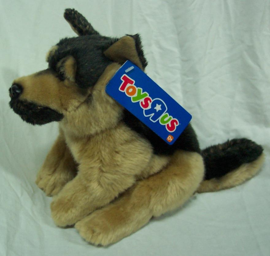 Squishy Mushy Toys R Us : Toys R Us SOFT GERMAN SHEPHERD DOG 9