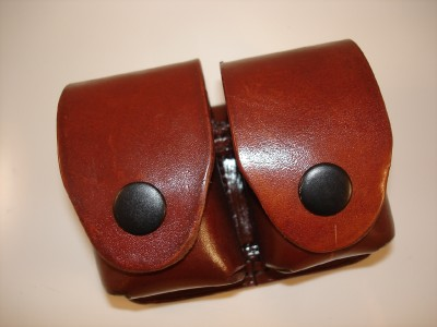 Leather Double Speedloader Pouch 4 J K L Frame 38 357 Ebay