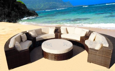 Outdoor Wicker Sectional Sofa Patio Furniture Ebay Luxury Furniture