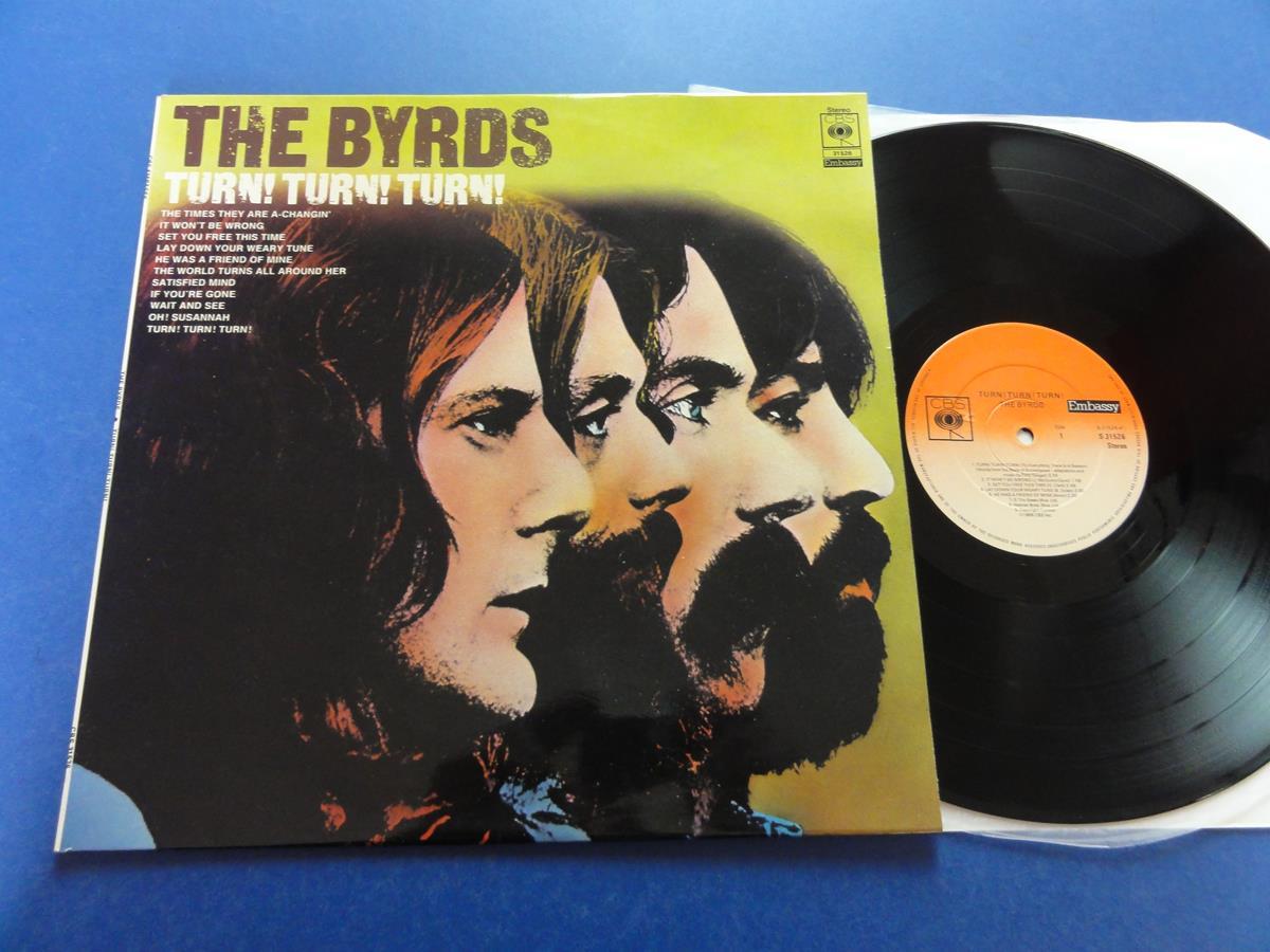The Byrds Turn Turn Turn Embassy Uk Lp Mint Ebay