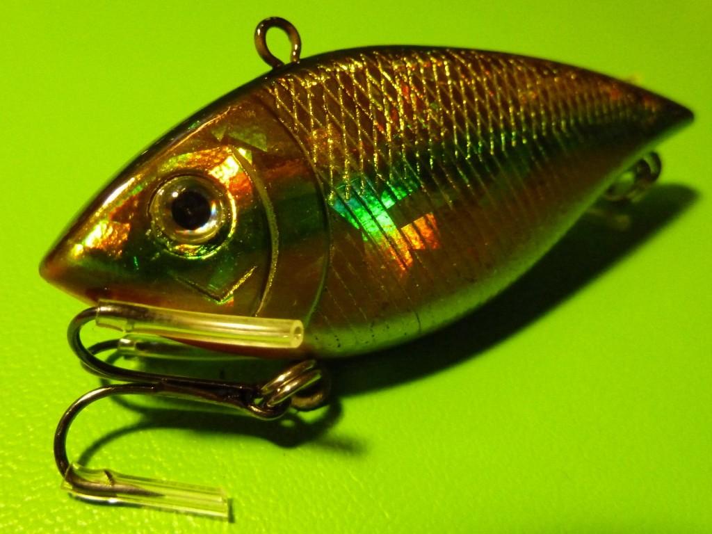 5X 70mm DFS Hardbody Vibe Vibrating Fishing Lure Floating ...