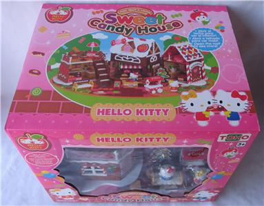 Hello kitty mimmy sweet candy ginger bread house playset - Petite maison hello kitty ...