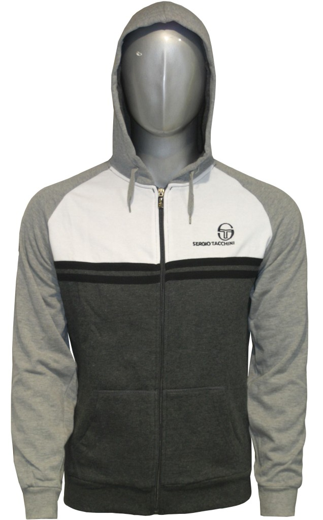 new mens sergio tacchini fleece hooded track jog suit ebay. Black Bedroom Furniture Sets. Home Design Ideas