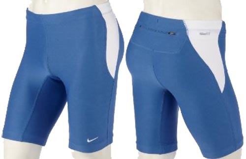 NEW-MENS-NIKE-DRI-FIT-TECH-BLUE-WHITE-RUNNING-SHORTS