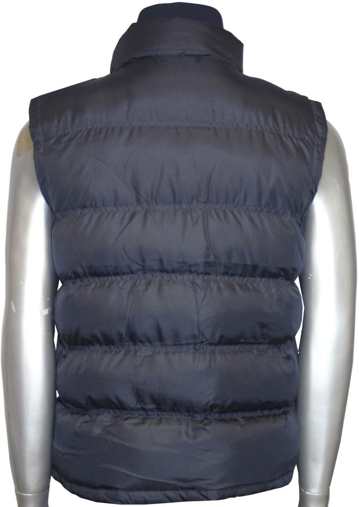 mens padded body warmer gilet double zip navy jacket ebay. Black Bedroom Furniture Sets. Home Design Ideas