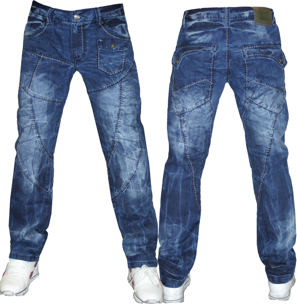 MENS-KOSMO-LUPO-ITALIAN-FUNKY-JEANS-SIZE-30-32-34-36-38